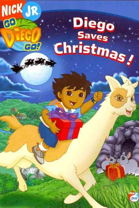 diego saves christmas by go diego go dvd